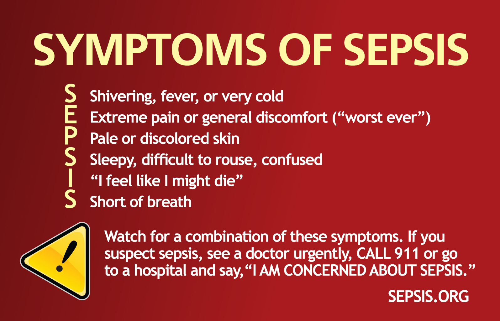 Symptoms sepsis alliance sepsissymptoms biocorpaavc Image collections