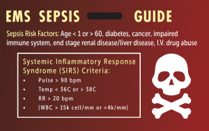Sepsis First Response, EMS, First Responders