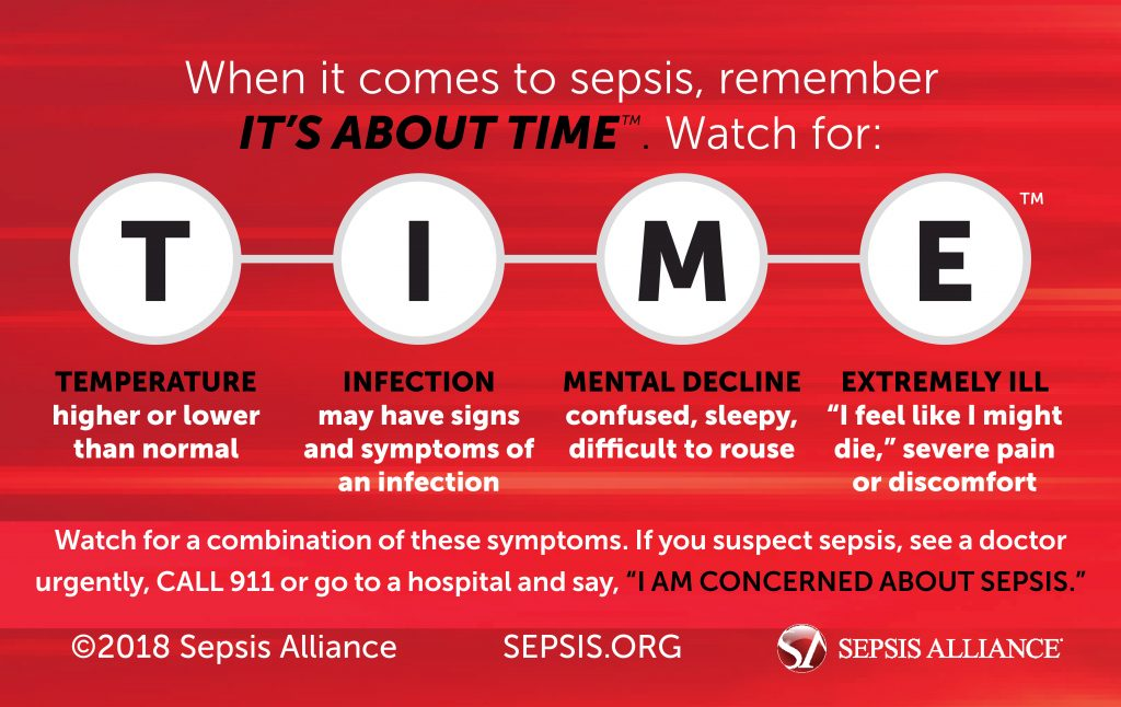 sepsis, its about time